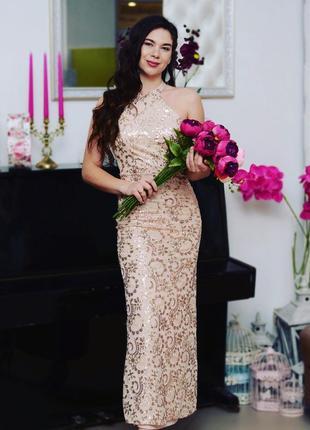 Элегантное выпускное платье