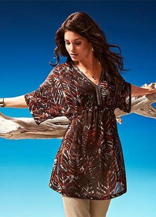 Оригинальная блуза-туника tchibo  германия