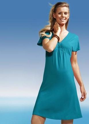 Вискозное платье sea side tchibo  германия