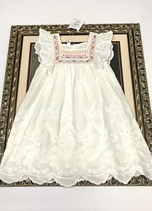 Платье батистовое