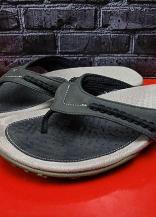 Кожаные шлепанцы вьетнамки geox оригинал2 фото