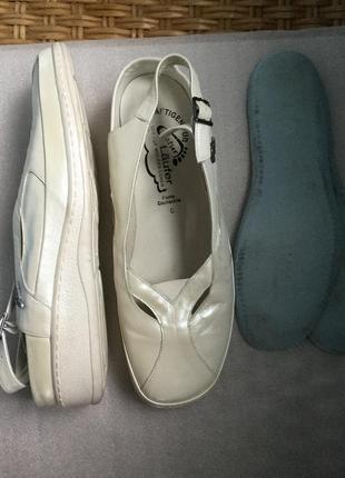 Туфли кожаные natur laufer