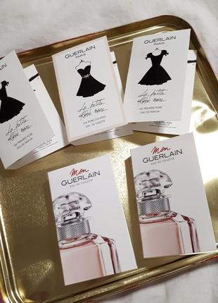 Наборы пробников парфюмированной воды guerlain mon guerlain la petite