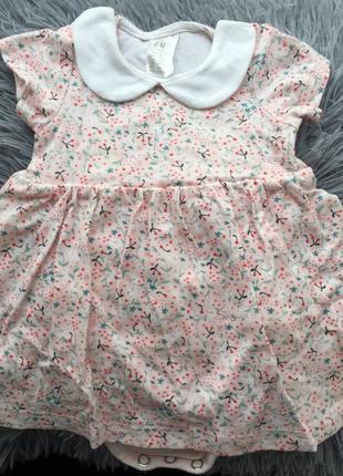 Платье-бодик на кроху