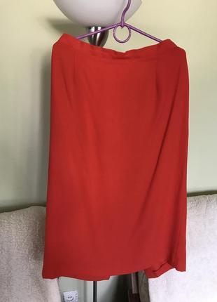 Крепдешиновая юбка