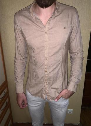 Хлопковая рубашка avva