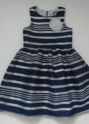 Нарядное платье на 8-9 лет