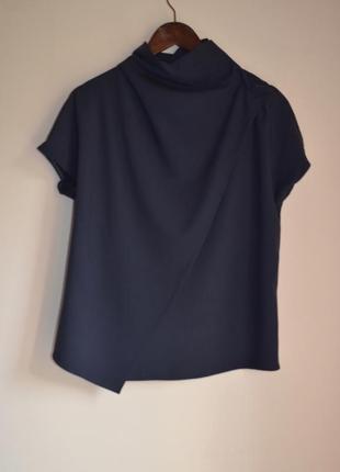 Блуза carven ассиметричный крой