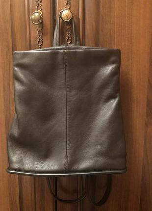 Кожаный рюкзак marks spencer