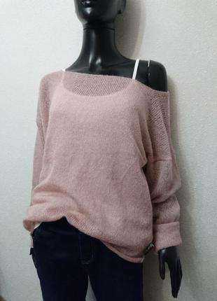 Летний лёгкий свитер + майка