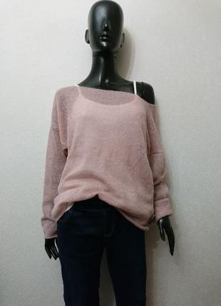 Летний лёгкий свитер + майка2 фото