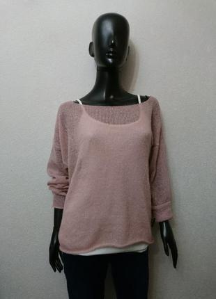 Летний лёгкий свитер + майка3 фото