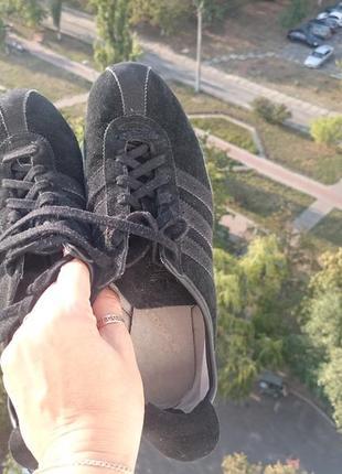 Кроссовки adidas замша