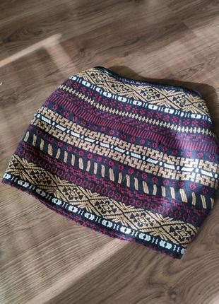 🔥только сутки такая цена🔥юбка с вышивкой zara2 фото