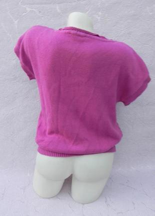 Вязанная кофточка футболка bhs3 фото