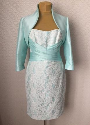 Нарядный комплект платье большой размер (англ 14, укр 48-50)  от kelsey rose