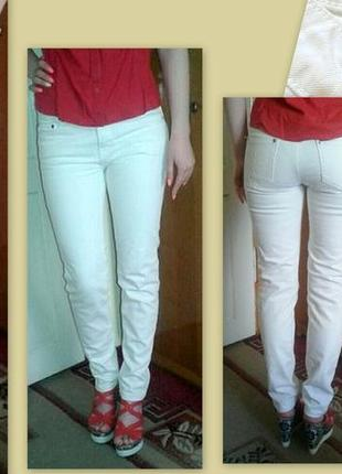 Білі штани denim co