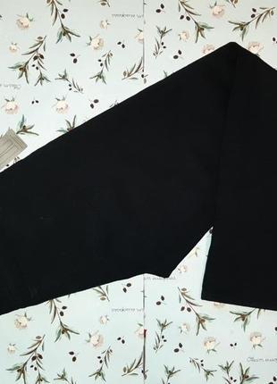 Акция 1+1=3 крутые фирменные черные прямые джинсы marks&spencer, размер 44 - 46