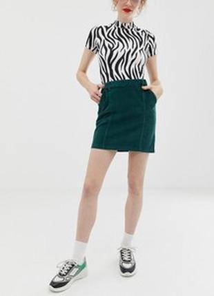 Новая брендовая юбочка из микровельвета!