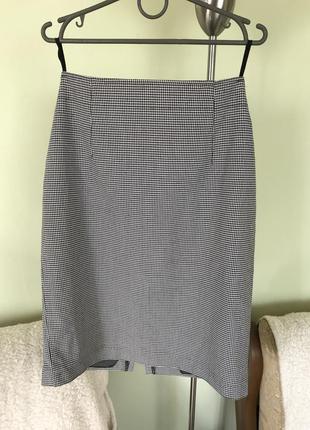 Шерстяная юбка на подкладке
