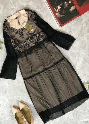 Красивое платье с гипюра  dr1919078 miss jannel