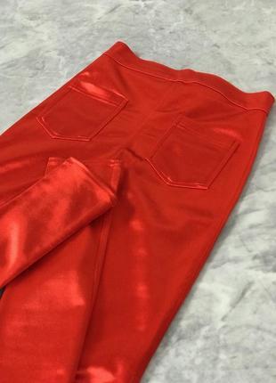 Яркие брюки с отливом  pn1919116 topshop2 фото