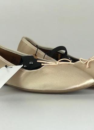 Нежные балетки с бантиком  sh1919031  h&m2 фото