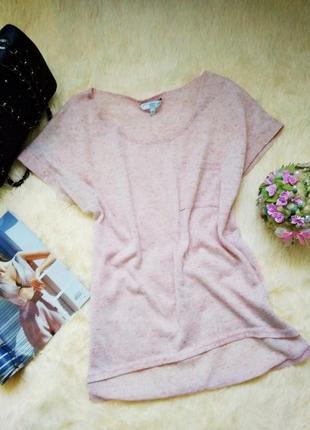 Нежно-розовая футболка new look