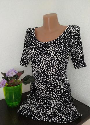 Платье в леопардовый принт от h&m