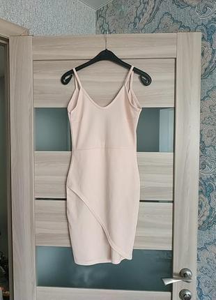 Красивое летнее платье с имитацией запаха