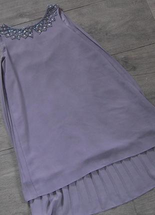 Летнее платье сарафан  с камешками next на 7 лет