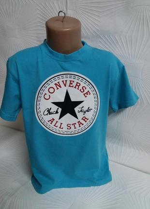 Фирменная футболка converse