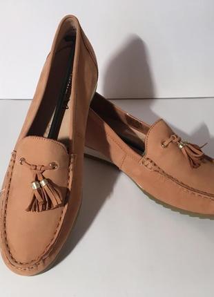 Кожаные  мокасины слипоны туфли caprice германия {размеры с 36 по 41}2 фото
