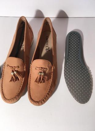 Кожаные  мокасины слипоны туфли caprice германия {размеры с 36 по 41}7 фото
