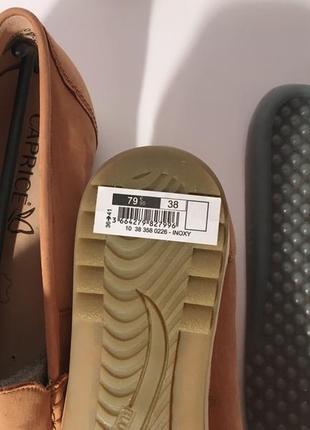 Кожаные  мокасины слипоны туфли caprice германия {размеры с 36 по 41}9 фото