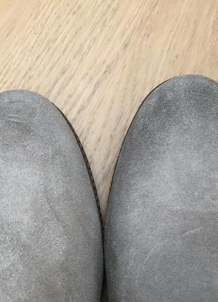 Ботинки замшевые бежевые taupe minelli5 фото