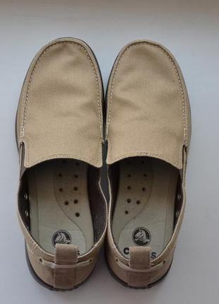 Мужские слипоны crocs men's walu slip-on