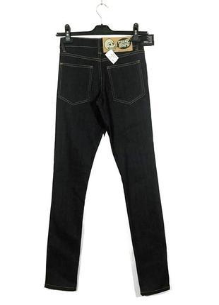 Cheap monday тёмные джинсы скини на высокой посадке2 фото