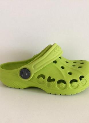 Шлёпанцы сабо клоги кроксы crocs c6-7