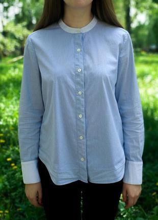 Красивая деловая женская рубашка