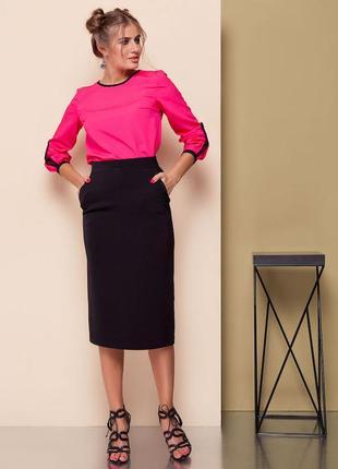 Базовая юбка-карандаш
