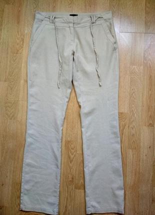 Льняные брюки vero moda, р.38