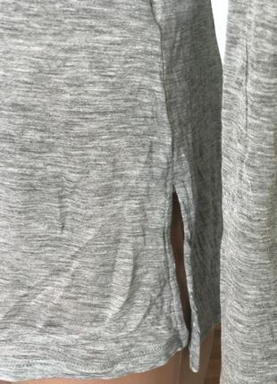 Кофта джемпер серого цвета united colors of benetton5 фото
