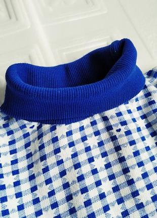 Теплое платье с высокой горловиной5 фото