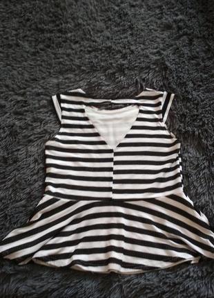 Блуза в полоску2 фото