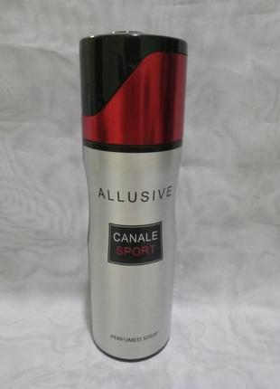 Мужской парфюмированный дезодорант allusive canale sport