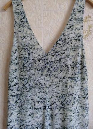 Длинное, шелковое платье. premium quality. h&m.4 фото