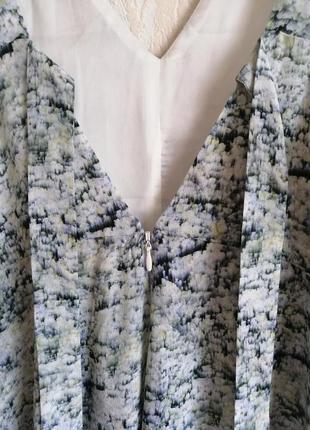 Длинное, шелковое платье. premium quality. h&m.5 фото