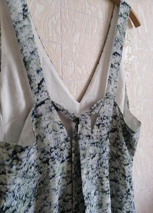 Длинное, шелковое платье. premium quality. h&m.6 фото
