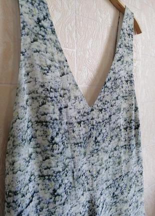 Длинное, шелковое платье. premium quality. h&m.7 фото